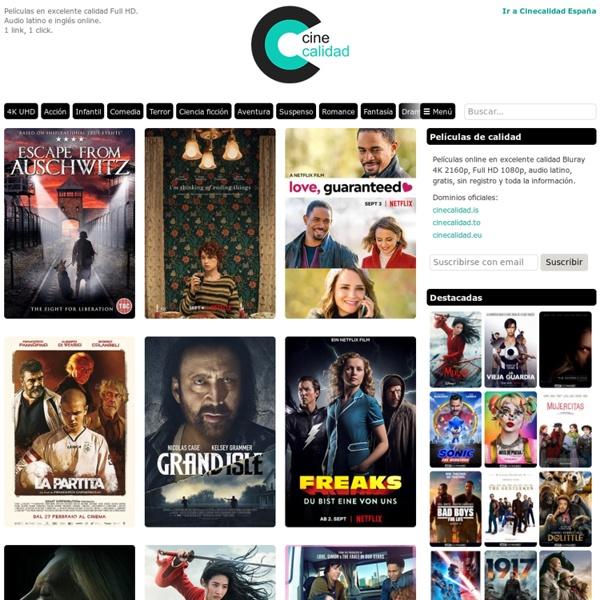 Películas online y para descargar gratis en excelente calidad HD