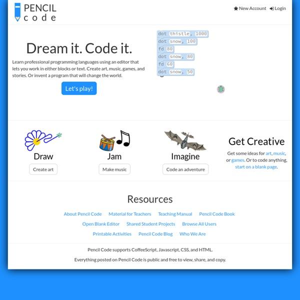 Pencil Code