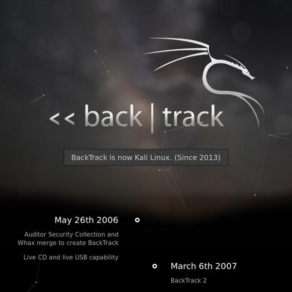 BackTrack Linux - Penetration Testing Distribution