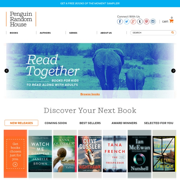 Random House - Bringing you the best in fiction, nonfiction, and children's books.