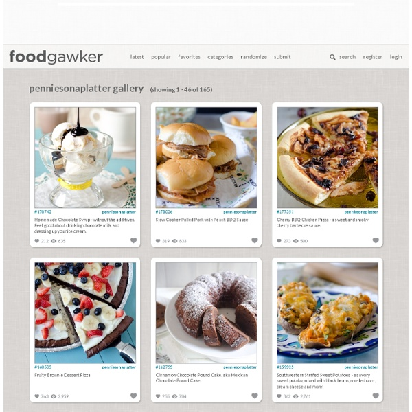 Foodgawker - StumbleUpon
