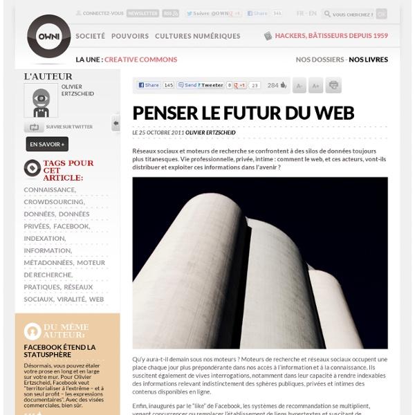 Penser le futur du web