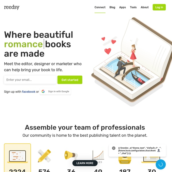 Reedsy - Find Editors and Book Designers