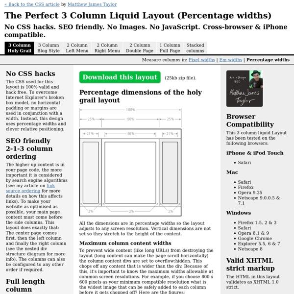 Perfect-3-column