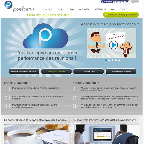 Gestion réunion performante et plan d'actions dans le cloud