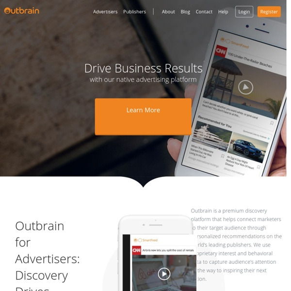 Outbrain - Content Ratings & Recommendations