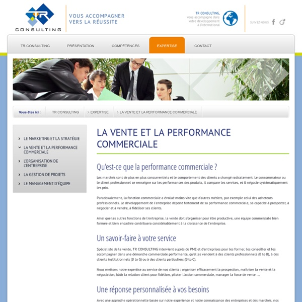 La performance commerciale par Thierry ROLLET - TR Consulting