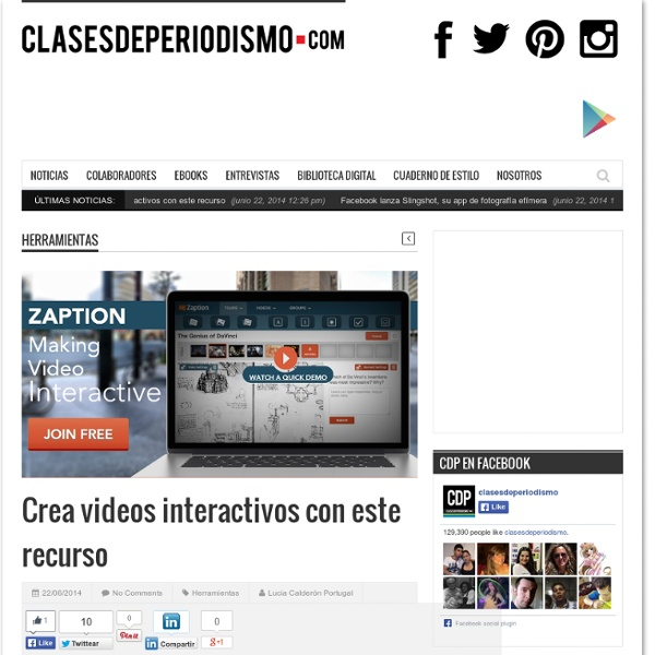 Crea videos interactivos con este recurso