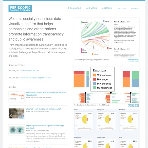 Periscopic: Do good with data