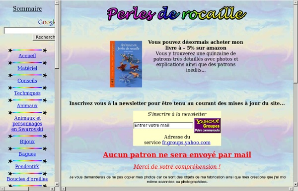 ~~~~ Perles de Rocaille avec Marilyne ~~~~