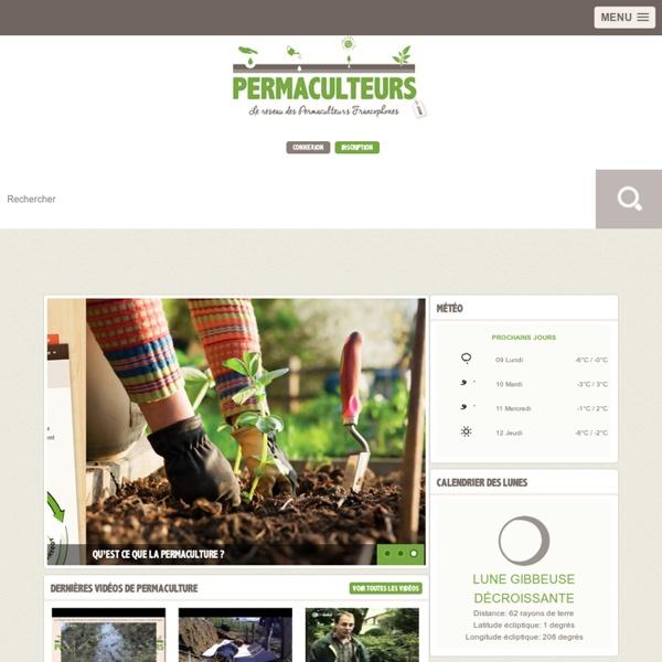 Permaculteurs.com : Le réseau des parmaculteurs francophones