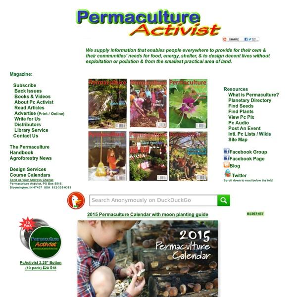 Permaculture Activist Magazine