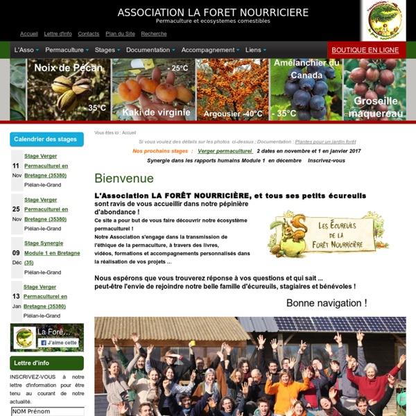 Permaculture - Association La Forêt Nourricière, Franck Nathié