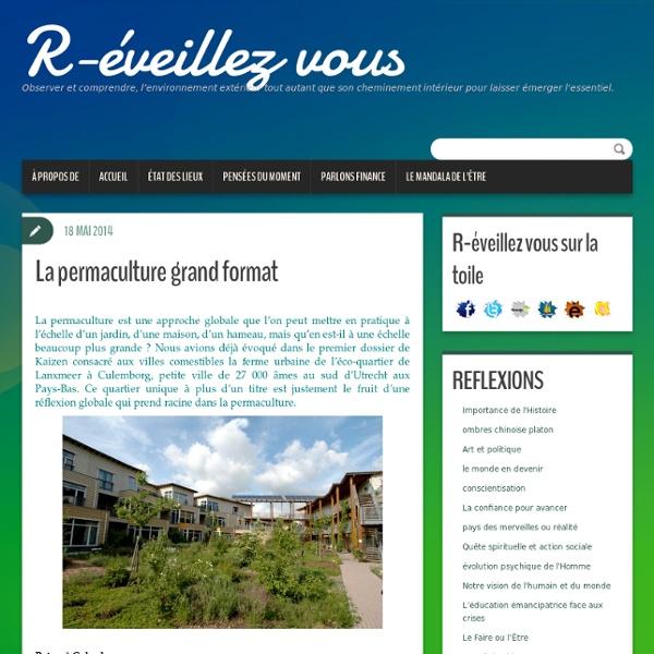 La permaculture grand format- Hollande