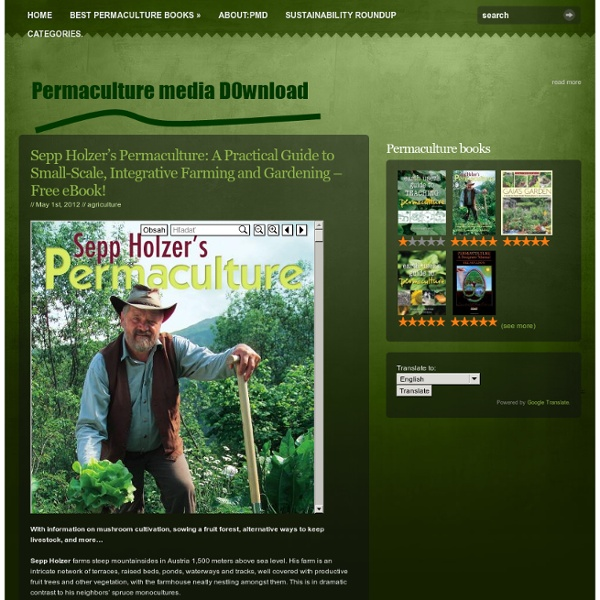 Permaculture & Forest Gardening - eBooks Previews, Exerpts Archive