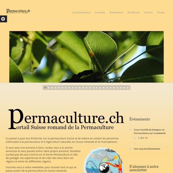 Permaculture.ch - Le portail de la permaculture en Suisse romande