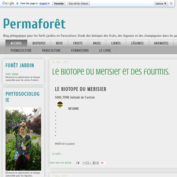 Permafrost - compatibilité des plantes