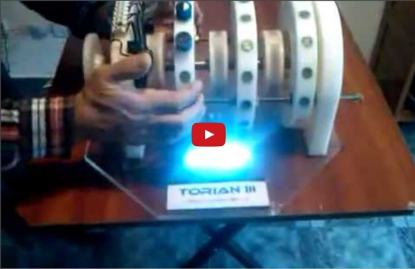 Permanent Magnetic Motor from Argentina  A self running