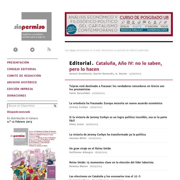 Revista Sin Permiso