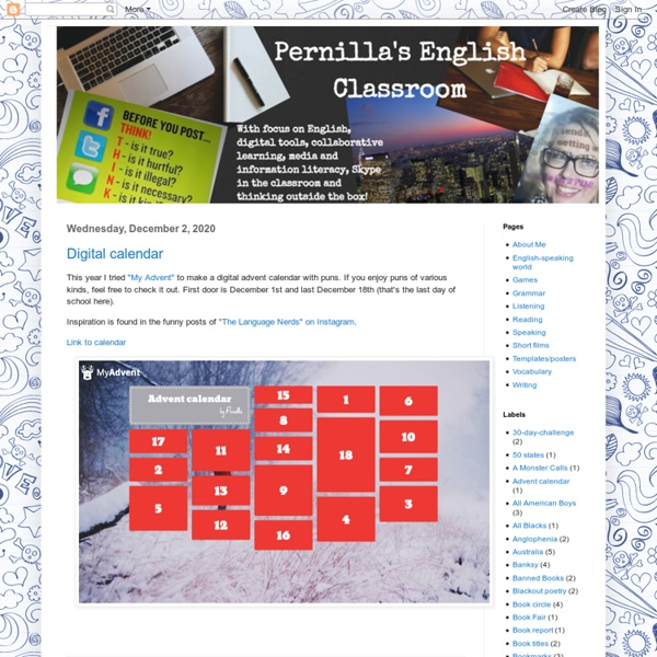 Pernilla's English Classroom