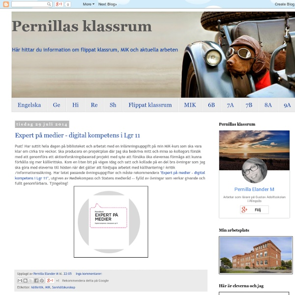 Pernillas klassrum
