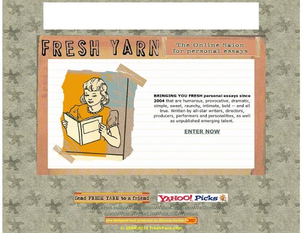 Fresh yarn essays