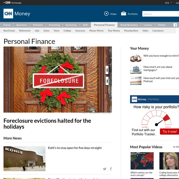 Personal Finance Advice and Financial News