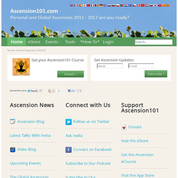 Personal And Global Ascension 2012 - 2017 are you ready?