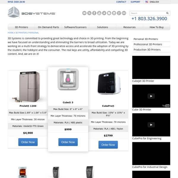 Personal 3D Printers - RapMan Kits, BFB3000 and V-Flash