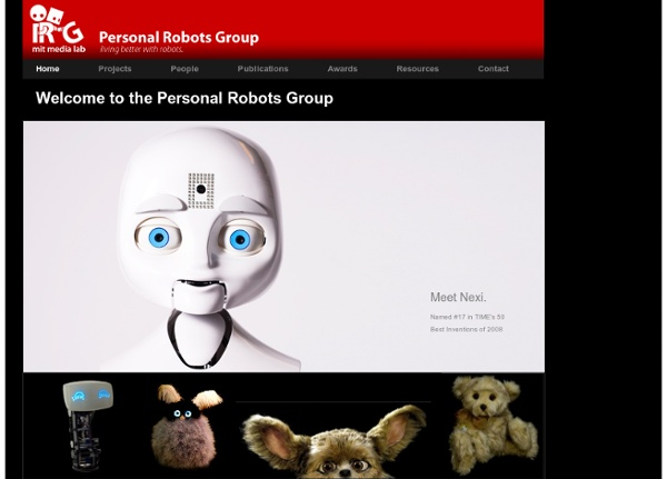Personal Robots Group - MIT Media Lab