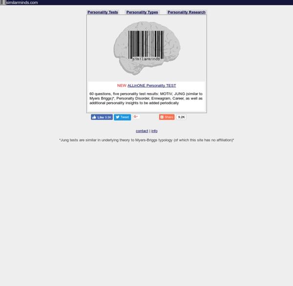 Personality Test Site - موزيلا فَيَرفُكس 4.0 Beta 9