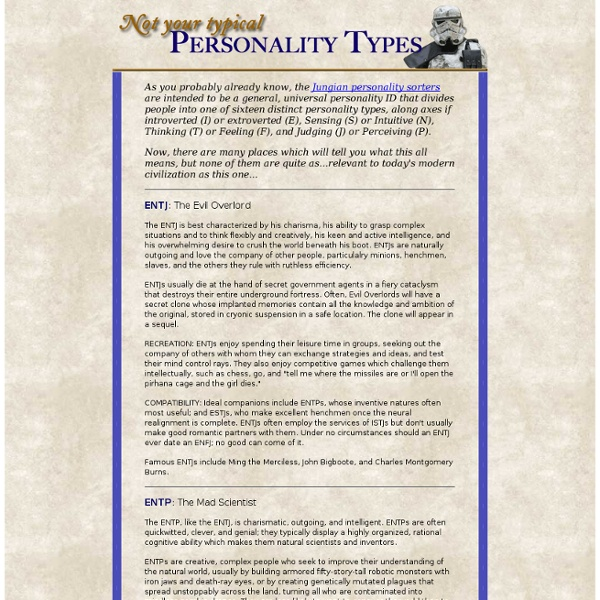 The REAL Personality Types Made Relevant