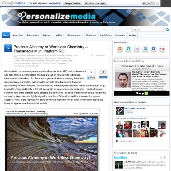 Personalize Media