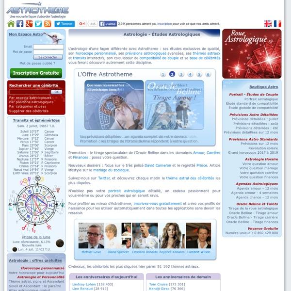 Astrologie - Horoscope