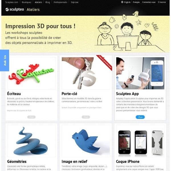 Concevez un design 3D personnalisé en ligne