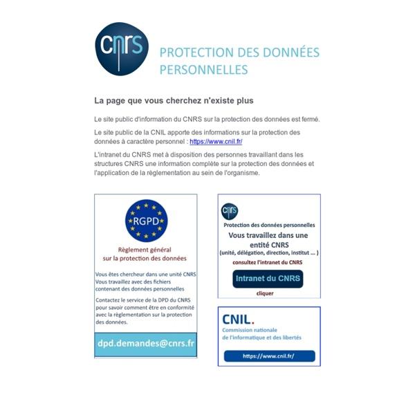 Qu'est-ce qu'une donnée personnelle? - Fil d'actualité du Service Informatique et libertés du CNRS