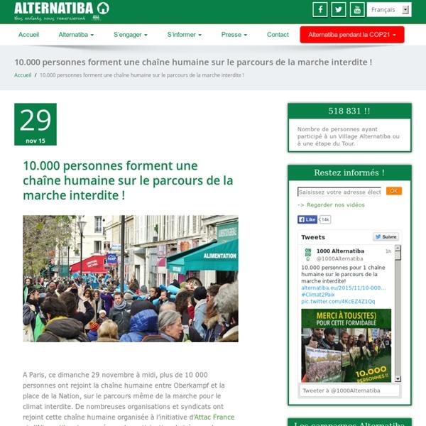 10, 100, 1000 villages des alternatives Alternatiba - Alternatiba