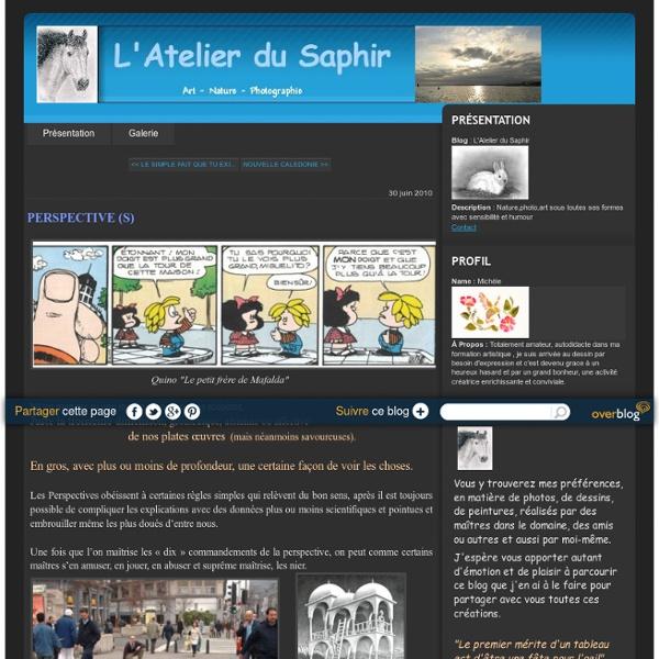PERSPECTIVE (S) - L'Atelier du Saphir