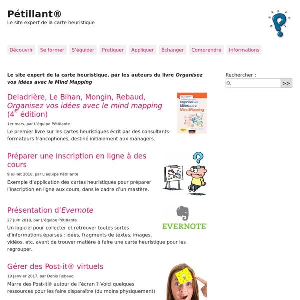Pétillant® : site expert de la carte heuristique