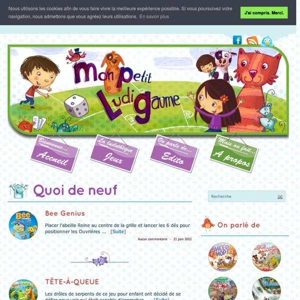 Mon Petit LudiGaume : Les jeux de société pour les petits
