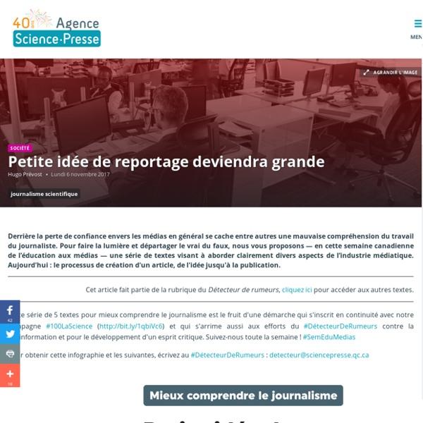 Agence Science-Presse