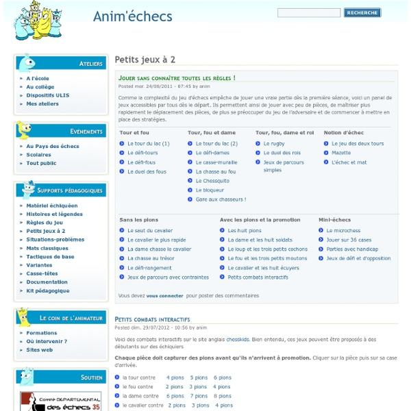 Anim'Échecs