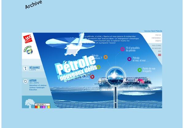 Pétrole: exposition pétrole à Paris