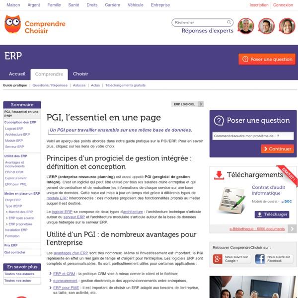 PGI : tout sur les avantages et la mise en place d'un PGI