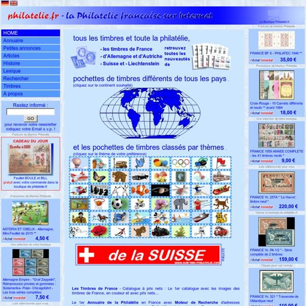 Philatelie.fr - timbres, philatélie