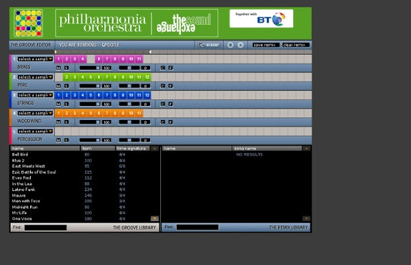philharmonia online sequencer pearltrees