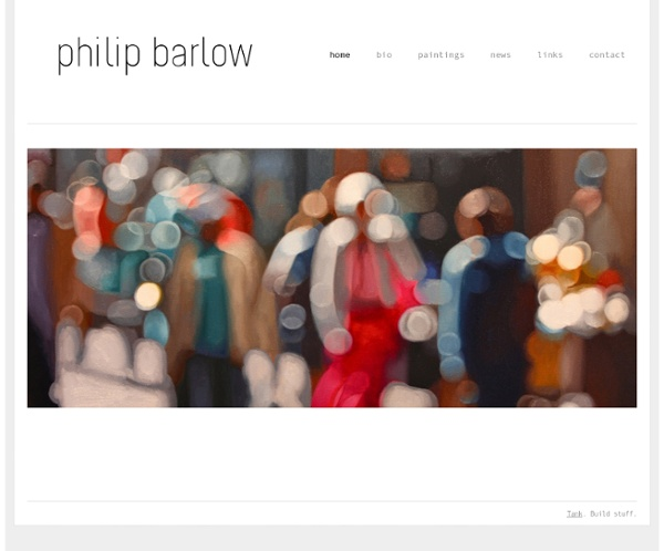 Philip Barlow - home