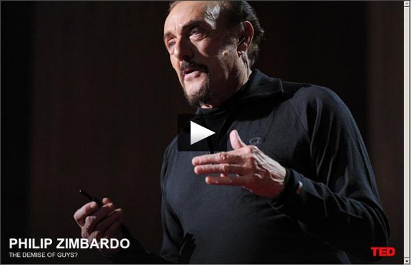 Philip Zimbardo: The demise of guys?