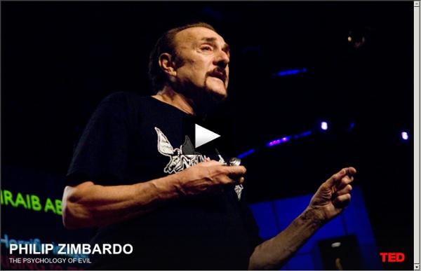 Philip Zimbardo: The psychology of evil