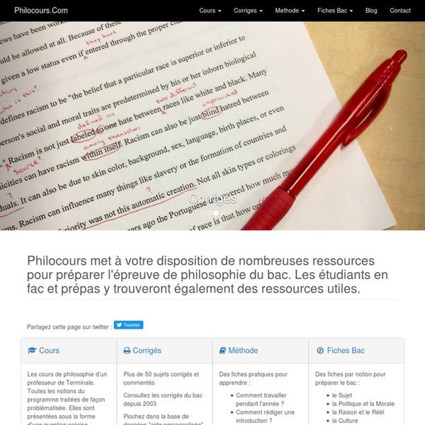 Philocours.com